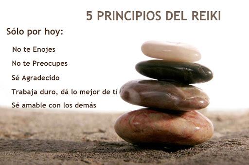 Los 5 Principios del Reiki