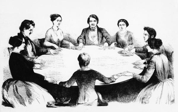 Periodo espiritista en la historia de la parapsicología